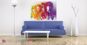 Jim Morrison Canvas Art