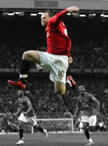 Wayne Rooney Canvas Print 02