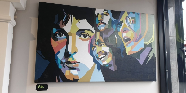 Beatles canvas print